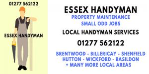 local Essex handyman
